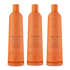 Kit Escova Progressiva Argan e Ojon 1L - Richée Professional