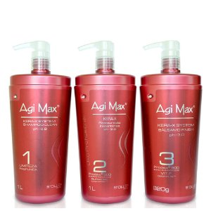 Kit Escova Progressiva Inteligente Agi Max 1000ml