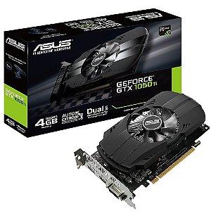 Placa de Vídeo Asus NVIDIA GeForce GTX 1050 Ti Phoenix 4GB, GDDR5 - PH-GTX1050TI-4G