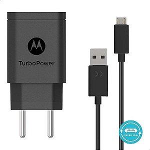 Carregador Motorola Fast Charge 10w Micro USB