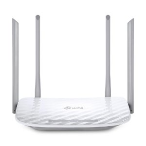 Roteador TP-Link Wireless Dual Band AC1200 com 4 antenas Branco - Archer C50