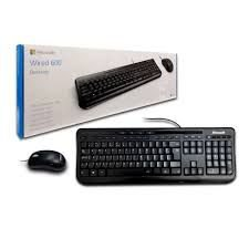 Kit Teclado e mouse Wired Desktop 600 - Microsoft