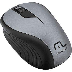 Mouse Sem Fio 2.4 Ghz Preto Grafite 1200 Dpi Mo213 Multilaser