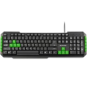 Teclado Gamer Multilaser ABNT2, Verde - TC201