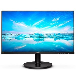 Monitor Philips W-LED 23.8´, Full HD, IPS, HDMI/DisplayPort, Bordas Ultrafinas - 242V8A
