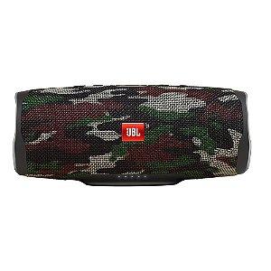 Caixa de Som Portátil JBL Charge4 Squad, Bluetooth, 30W RMS, À Prova d´Água, Camuflado - JBLCHARGE4SQUAD