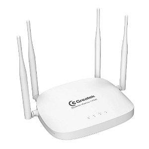 Roteador Wi-Fi Greatek 1200mbps Porta Gigabit