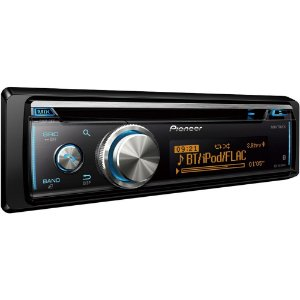 Rádio Automotivo Pioneer Dehx8780bt Entrada para CD USB SD e Bluetooth - Preto