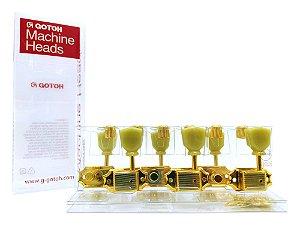 Tarraxa Gotoh 3x3 SD90 SL GOLD dourada L3+R3 Standard