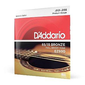 Encordoamento para violão aço Daddario 013 EZ930