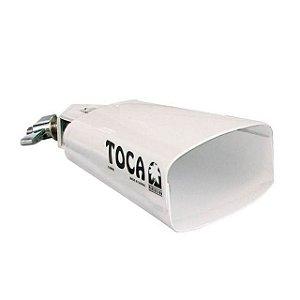 Cowbell alto branco TOCA 4424-T chacha profissional