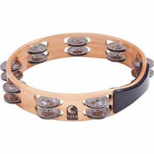 Pandeirola madeira TOCA T1010-A pandeiro tambourine meia lua