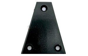 Escudo de tensor preto medidas 31x38x11 mm guitarra ou baixo