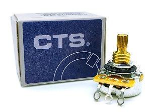 Potenciômetro CTS A 500K LOG CTS2418 A500K logaritmo guitarra