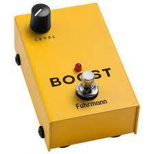 Pedal de Boost Booster Fuhrmann guitarra NF 1 ano garantia