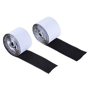 Velcro adesivo de pedal fixação dupla face 5 cm 1 metro fita