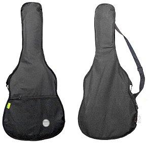Capa bag simples para violao classico nylon cor preta 8SP