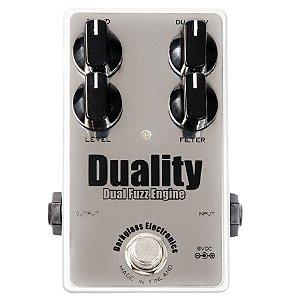 Pedal Duality Fuzz Engine - Darkglass - FUZZ com 2 circuitos
