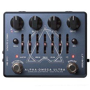 Pedal p/ baixo Darkglass Alpha Omega Ultra - Preamp + EQ + 2 Distortion