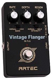 Pedal Vintage Flanger ARTEC SE-FLG / True Bypass
