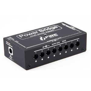 Fonte Fire power bridge 9v - preta - p/ 10 pedais