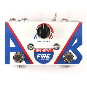 Pedal AB Box highway/booster FIRE custom- 5 anos de garantia