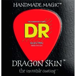 Encordoamento baixo 4 cordas DR Strings 045 - Dragon Skin