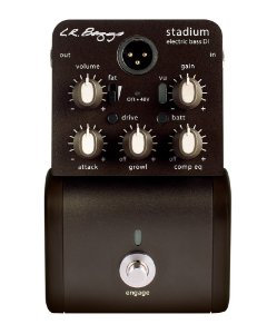 Pedal Preamp baixo Lr Baggs Stadium DI - direct box EQ, Comp