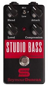 pedal Seymour duncan Studio Bass compressor baixo  c/ NF!