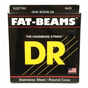 Encordoamento Baixo 4 Cordas Dr Strings Fat Beams 040 FB-40