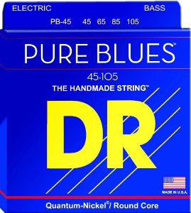 Encordoamento baixo 4 cordas 045 DR Strings Pure Blues PB-45