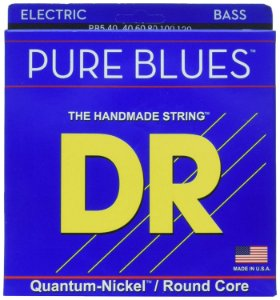 Encordoamento baixo 5 corda 040 DR Strings Pure Blues PB5-40