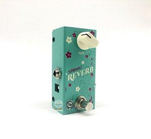 Pedal Spring Reverb Mini FIRE CUSTOM SHOP **Lançamento**!!