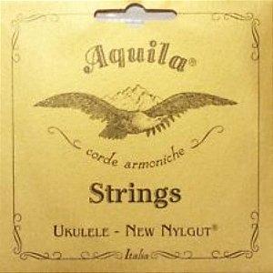 Encordoamento ukulele corda AQUILA soprano NYLGUT 5U SL c/NF