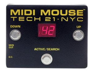 Pedal Tech 21 MM1 MIDI Mouse - Foot controller - controlador
