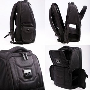 Mochila Gruv Gear Club Bag Stealth Elite impermeavel laptop