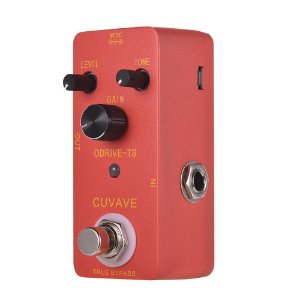Pedal guitarra Overdrive Ts Drive Cuvave True Bypass