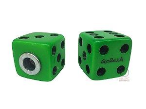 Borboleta Para Prato Gorilla Dado Verde 8mm 2 Unidades