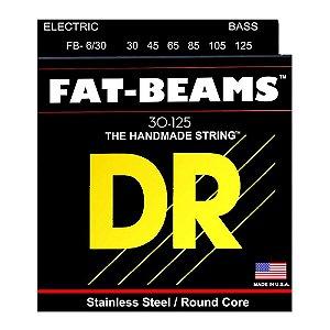 encordoamento baixo 6 cordas DR strings FAT BEAMS FB6-30