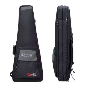 Bag Capa Dupla P/ Guitarra Soft Case Move Luxo