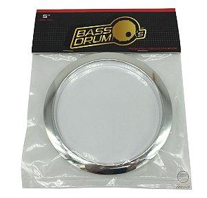 Anel Protetor Para Furo de Bumbo Bass Drum O´s Hc5 Cromado