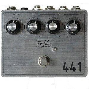 Mixer intrumentos 4 canais AB Box Trefilio 441 - handmade