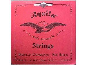 Encordoamento cavaquinho corda AQUILA RED SERIES 15ch c/NF