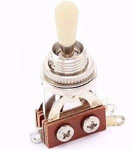 Chave 3 posição Les Paul Gotoh Dm20 W branco ORIGINAL c/ NF