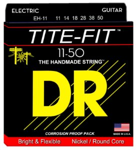 Encordoamento Guitarra 011 Dr Strings - Tite Fit - EH-11