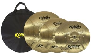 Kit set prato bronze Krest 14 16 20 c/ bag fusion FSET2