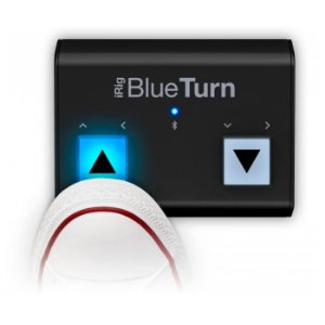 iRig Blue Turn IK virador pagina bluetooth -garantia 1 ano
