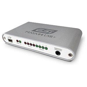 Interface 4 canais USB ESI MAYA 44 USB+ DJ - 1 ano garantia