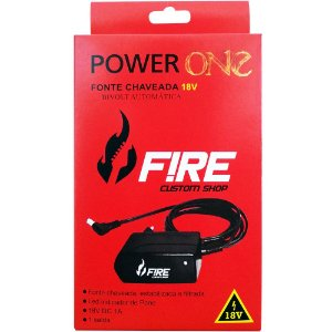 Fonte Fire 18v Power One 5 Anos De Garantia C/ Nf