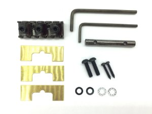 Trava corda nut GOTOH GHL-1 preto 43mm fixação por trás